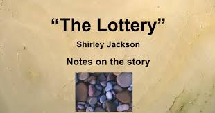 themes in the story the lottery the lottery background symbolism and theme google slides