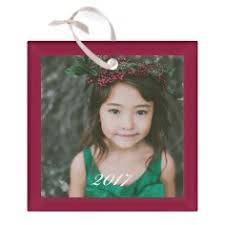 photo ornaments personalized christmas ornaments photo ornaments shutterfly