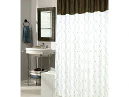 bowed shower curtain rod curved shower curtain rod with curtain