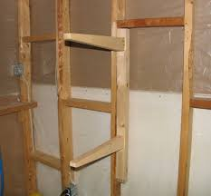 Wood Shelf Support Designs by Shelf Supports With Double Tenon Joints