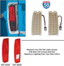 early bronco tail light wiring led tail light conversion kit 1966 77 ford bronco lmc truck