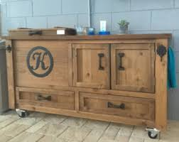 Rustic Bar Cabinet Rustic Bar Cabinet Etsy