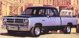 dodge trucks through the years truck power and fuel economy through the years