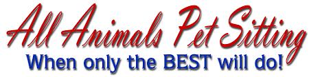 all animals pet sitting service u0026 rates