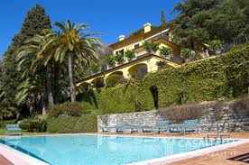 Homes With Detached Guest House For Sale by Luxury Villa With Swimming Pool For Sale In Rapallo