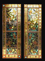 antique stained glass transom window fid15054a u0026b antique american stained glass windows 541 310 9027