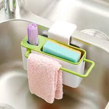 Kitchen Sink Brush 2018 New Practical Kitchen Sink Brush Sponge Cloth Rack Tools