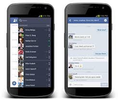 messenger apps for android messenger for android gets new design sms support