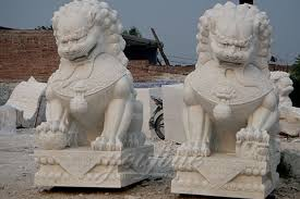 foo dog for sale decoration carving marble foo dog statues for gate marble