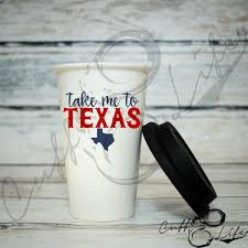 Texas travel coffee mugs images Drinkware cuff life boutique jpg