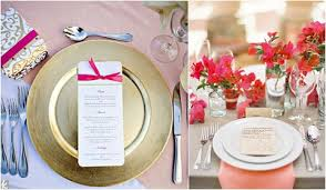wedding plate settings it s all in the details creative place settings obsessions