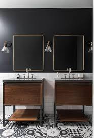 Toronto Bathroom Vanity Toronto Vanity Bathroom Transitional With Mirrored Wall Single