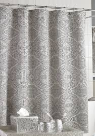 Silver And White Shower Curtain Shower Curtains Belk