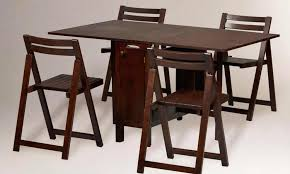 folding dining table and chairs online india folding dining room
