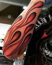 line tattoos arm fire flames arm sleeve tattoo flame tattoos