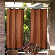 Window Curtain Tension Rod Indoor Outdoor Duo Tension Rod Set 28 To 120