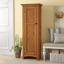 free standing kitchen pantry cabinets pantry cabinets you ll love wayfair