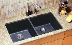 Elkay Undermount Kitchen Sinks Granite Composite 33 Inch Single Bowl Black Undermount Kitchen