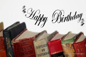 happy birthday book happy birthday card fashioned books greeting cards