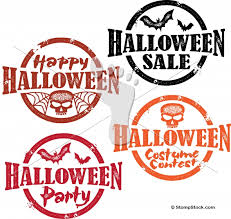 happy halloween party and sale graphics stompstock royalty
