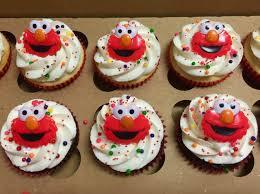 elmo cupcakes elmo cupcake rings cake in cup ny