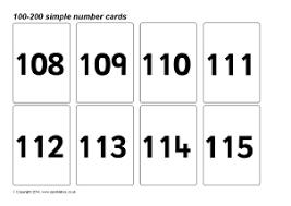 free printable number flashcards 1 20 number flash cards primary teaching resources printables sparklebox