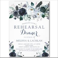 wedding rehearsal invitations navy peonies wedding rehearsal dinner invitation budget invitations