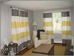 interiors magnificent yellow gray white curtains pink and gray