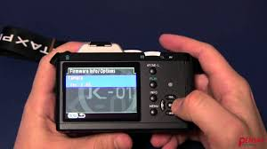 how to upgrade firmware in a pentax dslr youtube