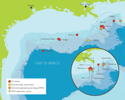 Map Of Mexico by Shell Finds 100 Million Oil Barrels In Deep Water Gulf Discovery