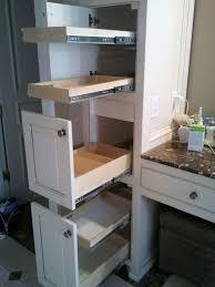 pull out baskets for bathroom cabinets 25 best bathroom organization images on pinterest bathroom