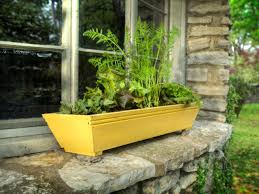 the perennial gardener types of planters for window box gardening