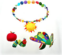 Hungry Caterpillar Nursery Decor Baby Crib Mobile Baby Mobile Inspired By The Hungry