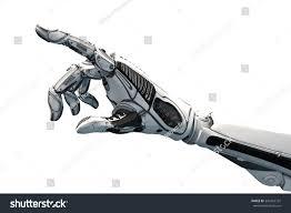 Futuristic Design Futuristic Design Concept Robotic Mechanical Arm Stock