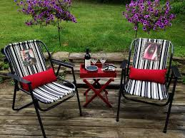 Refinishing Metal Patio Furniture - outdoor furniture transformation