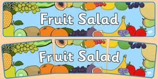 editable fruit editable fruit salad display banner