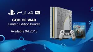 ps4 pro sold out until after christmas says amazon uk introducing the limited edition god of war ps4 pro bundle