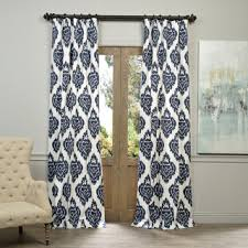 What Type Of Fabric For Curtains Exclusive Fabrics Mecca Printed Cotton Curtain Panel Free
