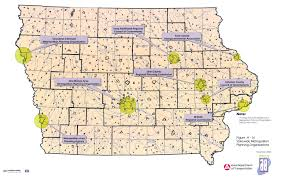 Map Of Des Moines Iowa Iowa Trails 2000 Iowa Department Of Transportation