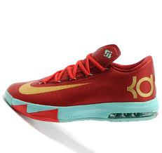 christmas kd 6 nike kd vi 6 christmas golden kevin durant basketball shoes