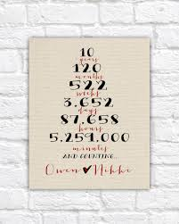 10th anniversary gift awesome tenth wedding anniversary gift images styles ideas