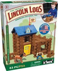 lincoln logs creative building toys for kids k u0027nex www knex com