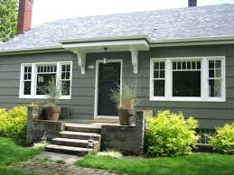 bungalow exterior paint color benjamin moore sharkskin 2139 30