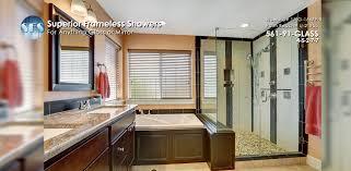 superior frameless showers frameless shower doors