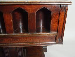 Gothic Furniture For Sale by 19th Century Gothic Oak Champagne Or Wine Cooler Table C 1840
