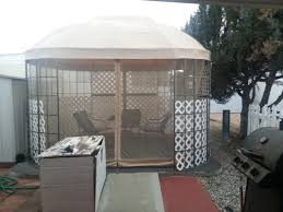 oval dome replacement canopy and netting set garden winds