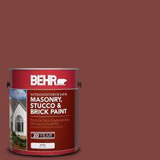behr 1 gal ms 06 matador satin elastomeric masonry stucco and