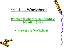 scientific notation worksheet free worksheets ordering