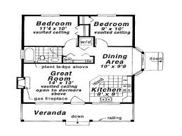 2 Story Great Room Floor Plans by Guest House Plans 2 Bedroom 2 Story Master Bedroom 1 Bedroom 2