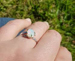 crystal opal rings images Coober pedy crystal opal ring 060a opal quest jpg
